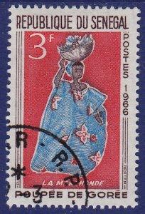 Senegal - 1966 - Scott #263 - used - Doll