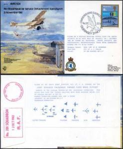 B2a No.1 Royal Naval Air Service Detachment Eastchurch Standard Cover (A)