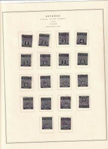 US Scott PN1 - PN18 Used Postal Note Lot W160