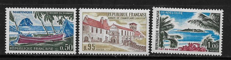 FRANCE, 1278-1280, MNH, 1970 ISSUE