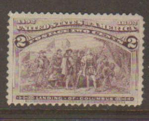 United States #231 MNH