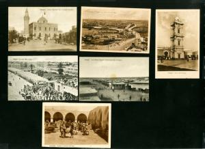 Libya Picture Post Cards 6x Early Scarce Selection Turn of Century