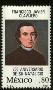 MEXICO 1243, 250th Anniv Birth of Francis Xavier Clavijero MINT, NH. VF.