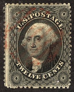 U.S. #36 Used Red Cancel