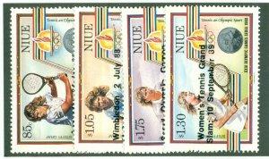 NIUE 560-3 MH CV $10.50 BIN $4.50