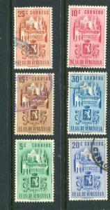 Venezuela #485-91 Used