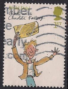 GB 2012 QE2 1st Class Roald Dahl's Childrens Stories used SG 3254 ( C1081 )