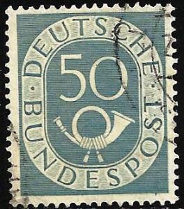 Germany 1952 Scott# 681 Used