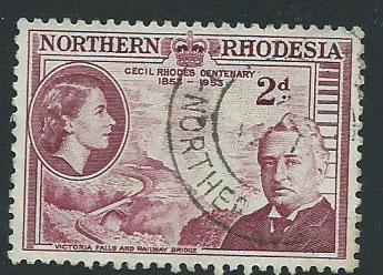 Northern Rhodesia  SG 56 VFU