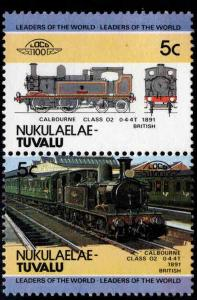 Nukulaelae-TUVALU Scott 1 MNH** Train pair