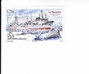 2017 St Pierre & Miquelon The Dauphin (Scott 1044) MNH