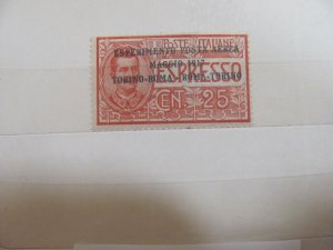 Italy Airmail stamp C1   mlh
