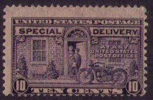 US Sc E12 MH Special Delivery Unused OG Very Fine