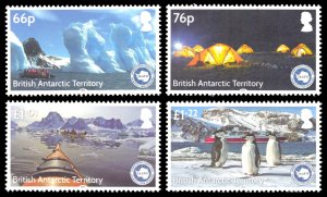 British Antarctic Territory 2016 Scott #512-515 Mint Never Hinged