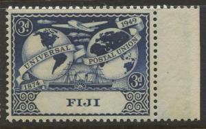 Fiji - Scott 142 - UPU Issue -1949 - MNH- Single 3d Stamp