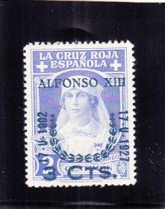 Spain: Sc #B32, Semi-postal, MH (S18948)