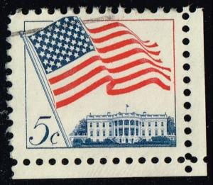 US #1208 Flag over White House; Used (0.25)