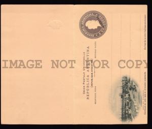 ARGENTINA 6c LA BOCA  Stationery CARD Essay MUESTRA SPECIMEN PHRIGIAN HAT