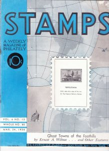 Stamps Weekly Magazine of Philately March 24, 1934 Stamp Collecting Magazine