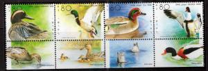ISRAEL Scott 1025 MNH** 1989 Duck stamp with tab