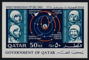 Qatar 104B MNH American Astronauts, Space