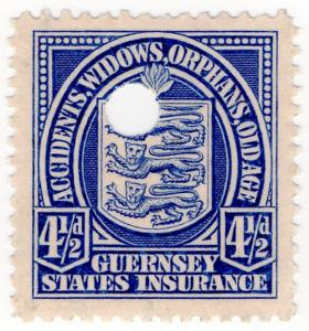 (I.B) Guernsey Revenue : Insurance 4½d