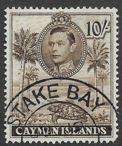 Cayman Iles 111a   1943   10 sh  fine used