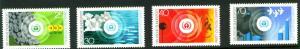 Germany Scott 1119-1122 MNG No Gum 1973 stamp set