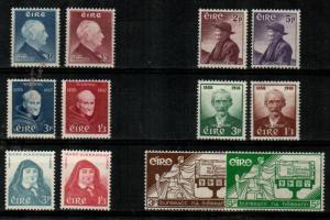 Ireland Scott 157 // 170 Mint hinged sets (Catalog Value $129.50)