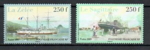 French Polynesia 949-950 MNH .