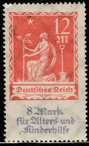 Germany B4, 12+8M Semi-Postal MNH. VF. (12)