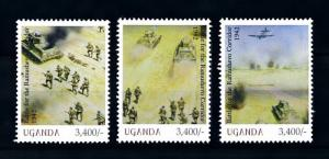 [91875] Uganda  World War 2 Battle Ramushevo Corridor  MNH