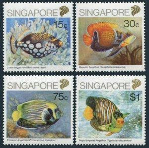 Singapore 548-551,MNH.Michel 579-582. Fish 1989.
