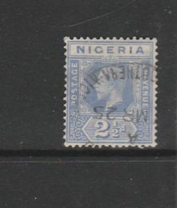 Nigeria 1921/32 2 1/2d Bright Blue Used SG 21
