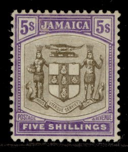JAMAICA EDVII SG45, 5s grey and violet, M MINT. Cat £55.