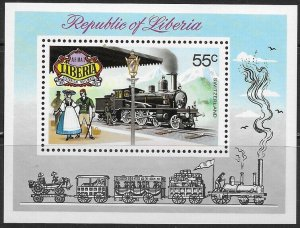1973 Liberia 875/B66 Locomotives