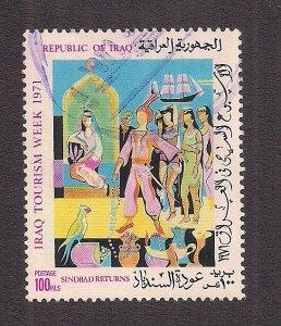 IRAQ SC# 590   FVF/U 1971