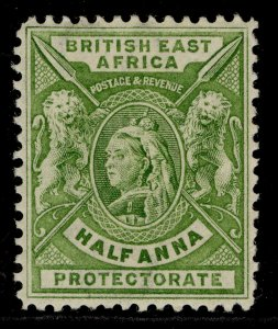 BRITISH EAST AFRICA QV SG65, ½a yellow-green, M MINT.