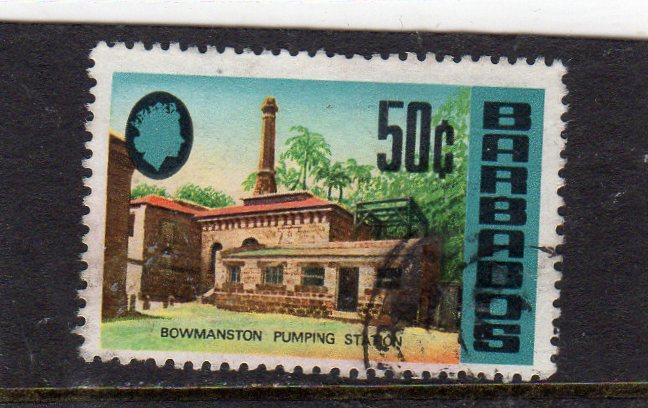 Barbados Definitives Pumpng Station used