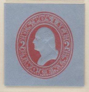U.S. Scott #U229 Washington - Embossed Stamped Envelope - Mint Single