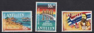 Netherlands Antilles 1988  MNH  Queen Emma Bridge  complete
