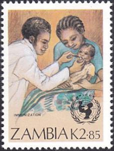 Zambia # 442 mnh ~ 2.85k Child Immunization