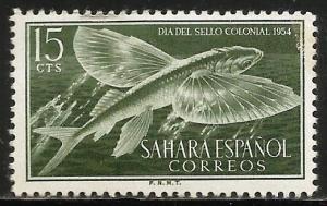 Spanish Sahara 1954 Scott# 74 MH