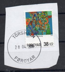 FAROE ISLANDS - THE WESTERN PORT - ART - Unstucked - Stamped - 2013 -