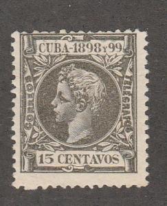 CUBA #169 MINT HINGED