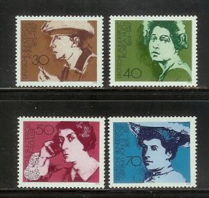 Germany 1155-1158 Set MNH German Women Writers (D)