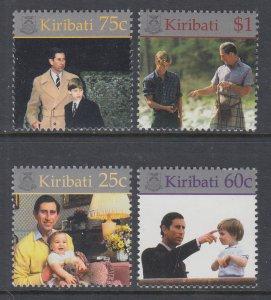 Kiribati 768-771 MNH VF