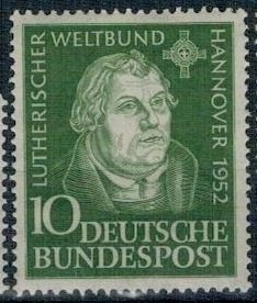 Germany 1952 MNH Stamps Scott 689 Martin Luther
