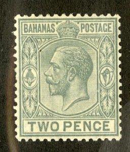 BAHAMAS 74 MH SCV $1.90 BIN .90 ROYALTY