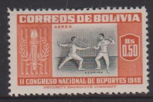 Bolivia Sc#C152 MH
